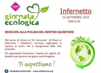 Plogging all'Infernetto - Giornata Ecologica
